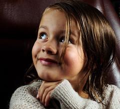 Ella (.Eide) Tags: strobist portrait girl 7yearsold happy smile