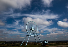Apedale Country Park (The Crewe Chronicler) Tags: mine pitwheel sky skyporn clouds cloudporn apedale apedalecountrypark canon canon7dmarkii
