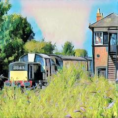 D8568 (R~P~M) Tags: train railway diesel locomotive 17 clayton princesrisborough buckinghamshire england uk unitedkingdom greatbritain bucks