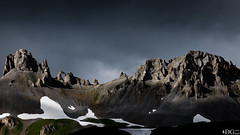 Tignes (Damien GUIOT) Tags: vacances roche rando landscape nature panoramique verdure juillet 2016 nikon 169 alpes aiguilleperce hautemontagne t paysage texture montagne tignes savoie mineral pics contraste couleurs damienguiot d810 lightroom neige
