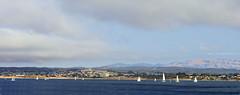 Monterey California (SLDdigital) Tags: montereybay montereycounty ocean slddigital water pacificocean sailboats sailing clouds sky boating monterey