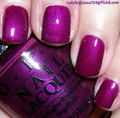 OPI Designer Series Imperial (ladybuglexus724) Tags: purple nail polish lacquer pink red holographic opi orly china glaze revlon finger paints