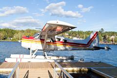 Private De Havilland Canada DHC-2 Beaver C-GRHF (jbp274) Tags: greenville greenvilleseaplaneflyin mooseheadlake flyin airplanes seaplane floatplane 52b lake water dehavillandcanada dhc2 beaver