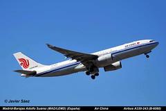 Air China Airbus A330-243 (B-6080) (Spotter Javiersz) Tags: china spain air airbus aviones adolfo comerciales surez madridbarajas a330243 madlemd b6080