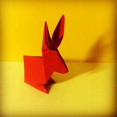 Happy Easter Day! #Conejo #Rabbit # # # #easter # # # # #papiroflexia #origami #paper #fold #spring #April #05 #2015 #caracas #venezuela #chicoquick (chicoquick) Tags: rabbit paper easter spring origami conejo venezuela 05 caracas april  fold papiroflexia  2015      chicoquick