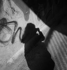 ... (krøllx) Tags: street city people bw norway shadows photowalk trondheim selfie leirfoss 1505090302