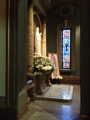 Blessed Virgin altar