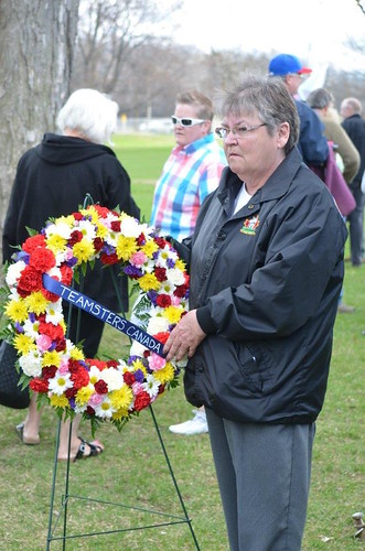 National Day of Mourning at Vincent Massey Park in Ottawa