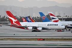 VH-OQD     LAX (airlines470) Tags: 26 a380 msn lax qantas a380800 a380842 vhoqd
