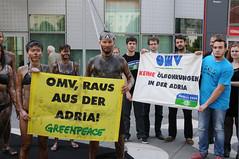 Akcija na godišnjoj skupštini OMV-a, Beč