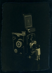 The selfie (vincent-photo) Tags: ambrotype largeformat underexposed 5x7 gelatin 13x18 dryplate fkd fkdcamera leitmeyr24045 gleitmeyr