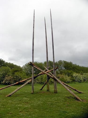 GOC Cheshunt & Lee Valley 232: Sculpture park