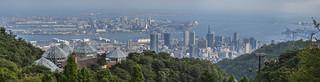 Kobe Panorama from Nunobiki Herb Garden