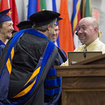 "<b>Commencement</b><br/> Commencement Ceremony held Sunday, May 24, 2015. Photo by Breanne Pierce<a href=""http://farm9.static.flickr.com/8795/18174170965_a9c4cb4a96_o.jpg"" title=""High res"">∝</a>"