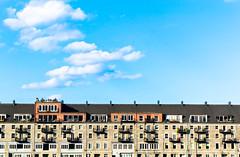Boston Harbour (David Avila Photography) Tags: city blue houses light sky white colors boston clouds america landscape photography lights coast harbor nikon warm shadows bright harbour massachusetts north highlights sharp clear balance hue intensity d3100