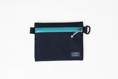 Flat Pouch Aqua 02 (Imagery Bags) Tags: zipper ykk waterresistant flatpouch drypouch
