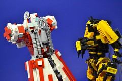 Medic_16 (Shadowgear6335) Tags: red white robot lego system technic medic bionicle moc shadowgear shadowgear6335