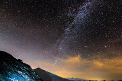 Galaxy Traveller (Jamani Caillet) Tags: red mountains montagne milkyway summer montagnes mountain milky alps alpes astrophotography wallis switzerland toiles romandie romande tokina suisse voie paysage stars swissalps schweiz swiss starscape starry hiking sky lacte landscape galaxy galaxie canon valais nightscape