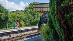 Harmans Cross Station 03 (Matt_Rayner) Tags: swanage railway 34070 manston sr battle of britain class steam train
