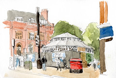 The Great Yorkshire Fringe rotunda, Parliament Street, York