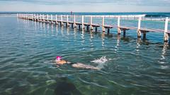 A winter swim (Tanipani) Tags: beach swimming oceanpool sun landscape outdoor water sydney australia