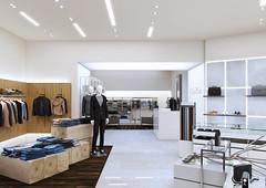 CK Lifestyle Store (Stratos D. Zolotas) Tags: archviz visualization render rendering cg 3d 3dsmax vray store design retail ck calvin klein