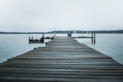 Dock (ben.gentile) Tags: county wood wet water field contrast river neck bay virginia pier cool dock nikon warf dof grain july overcast dreary sharp kinsale rainy d750 potomac northern tones depth f28 chesapeake tranquil damp soothing westmoreland 2470mm