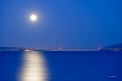 Moonlight (davidyuweb) Tags: bridge golden bay gate san francisco moonlight sfist  luckysnapshot