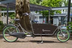 WorkCycles Kr8 Grey-Green-5 (@WorkCycles) Tags: family dutch amsterdam bike bicycle box transport bak cargobike bakfiets bakfietsen workcycles kr8
