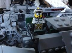Commander Bly (Johnny-boi) Tags: 2 star lego wars minifig custom clone phase bly