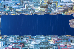 Starry of Quarry Bay Monster building   (kevinho86) Tags: starry stack startrack eos6d hongkong architectural design urban city cityscapes landmark    night nightscape longexposures lightshadow  35mm lifestyle