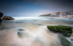 Magic colors (Mika Laitinen) Tags: atlanticocean canon7dmarkii europe leebigstopper leefilters leendgrad portugal praiadasmas sintra tokina1116mm beach cliff cloud landscape longexposure nature ocean outdoor rock sea seascape shore sky summer water wideangle colares lisboa pt color