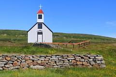 Nauteyrarkirkja (h) Tags: nauteyri nauteyrarkirkja safjarardjp vestfirir westfjords iceland church july 2016 lutheran hlesla veggur kirkja summer