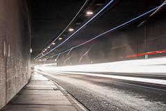 Rastatter Tunnel (bomme) Tags: auto lkw langebelichtung licht lichter rastatt strase tunnel verkehr