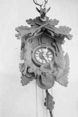 Clock (forwardcameras) Tags: caffenolc kentmere100 olympusom10