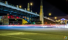 Own the Night (ABPhotoZA) Tags: capetown lighttrails city canon5d canon canalwalk nightphotography