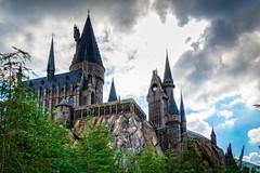 Hogwarts Castle (mdavies149) Tags: hogwarts harrypotter castle florida orlando universalstudios nikon d600 buildings fantasy michaeldavies vacation overseas usa america