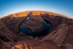 Horseshoe Bend (East Western) Tags: horseshoe bend horse shoe page arizona az fisheye dawn sunrise
