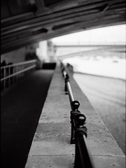London (Jorkew) Tags: street uk bridge england people blackandwhite bw en white black london mamiya field station thames fence mediumformat river way lens concrete photography blackwhite construction iron arch dof conversion unitedkingdom candid united under silhouettes bank rail railway kingdom pedestrian southbank depthoffield waterloo walkway londres pro medium format blackfriars railing zwart wit riverthames depth bnw pathway mamiya645 railwaybridge underthebridge londen blackfriarsbridge zw centrallondon zwartenwit londonblackfriars iorn kodakportra160 80mm28 mamiya645pro sekorc ironconstruction 645pro 80mmf28n mamiyasekorc mamiyasekorc80mmf28n