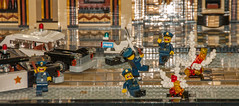 Joker vs. Batman - Gotham Theater Showdown (SEdmison) Tags: oregon portland lego convention batman joker gothamcity brickscascade brickscascade2015
