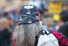 retro (g_u) Tags: people man florence gente persone uomo firenze bandana gu pirata ugo piazzaduomo fazzoletto