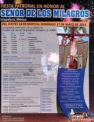 Programa Fiesta Patronal del Seor de los Milagros Ixtapaluca 2015 (Cristobal Jimenez (Fotografo-Ixtapaluca)) Tags: fiestas milagros danzantes ixtapaluca seordelosmilagros matachines fiestaspatronales seordelosmilagrosixtapaluca seordelamisericordiaixtapaluca sanjacintoixtapaluca nuestroantiguoixtapalucachalco