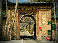 (The Gate Of Saad Abad Palace Complex) (Armin Hage) Tags: gate iran revolution tehran saadabad pahlavidynasty  saadabadpalacecomplex arminhage