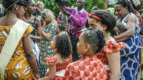 AFRICA DAY 2015 - CELEBRATED TODAY AT FARMLEIGH HOUSE [DUBLIN] REF-104433