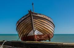 Rosie II Balanced (paulnorris2011) Tags: beach boats kent nikon cc shore deal lr pl nikor 2485 d7100