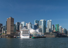 Downtown Vancouver (Vlad_Kyr) Tags: city canada skyline vancouver downtown cityscape place britishcolumbia highrise