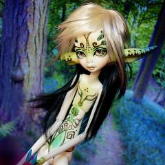 Dollchateau Beatrice (Sakura-Streifchen) Tags: insect dc doll fantasy bjd beatrice abjd ws balljointed balljointeddoll faceup dollchateau amahtalafaceups asiaballjointed