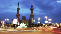 (Ayman Abu Elhussin) Tags: street old blue art history tourism fountain clouds speed square lights cityscape view nightshot god islam prayer egypt portsaid arab lamps longshutter  allah  ayman    2015      nikon3200                ayman6681  peacemosque  aymanabuelhussin adleymansour    atefelsadatst