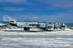 VMFA-312 F-4J Phantom BuNo 157290, DR-10 (skyhawkpc) Tags: copyright usmc airplane aircraft aviation navy marines 1995 naval usnavy chinalake usn allrightsreserved mcdonnell usmarines f4j phantomii dr10 wsl airfoto 157290 vmfa312checkerboards joecupido