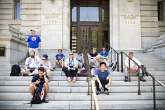 2015 05 30 - 7311 - DC - Ingress Anomaly (thisisbossi) Tags: usa washingtondc dc nw unitedstates northwest persepolis resistance anomaly reaganbuilding anomalies niantic ingress reagancenter